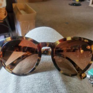 Authentic COACH Brown Tortoise Sunglasses Like New